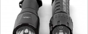 Tactical Flashlight Comparison:  The eGear XT-130 vs. The Fenix TK12