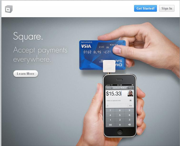 accept square payments on my website