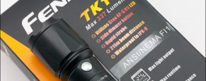 Review of the Fenix TK15 Tactical Flashlight