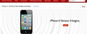 Verizon *Officially* Announces The iPhone 4 Coming in Early February