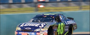 The 2006 NASCAR Ford 400 in Miami, FL