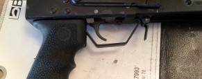 My Saiga 12 Pistol Grip Conversion Project