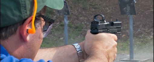 Does A Red Dot Optic On A Pistol Really Help?