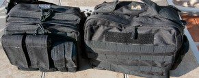 Ammo Bag Options:  The Maxpedition Active Shooter Bag vs. The LA Police Gear Zombie Hunter Bag