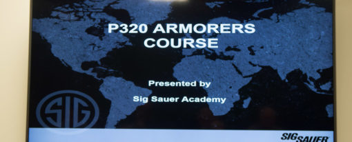 Review of the SIG P320 Armorers Course