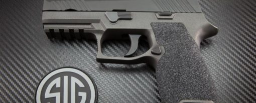 P320 Silicon Carbide Grip Module By C&C Firearms